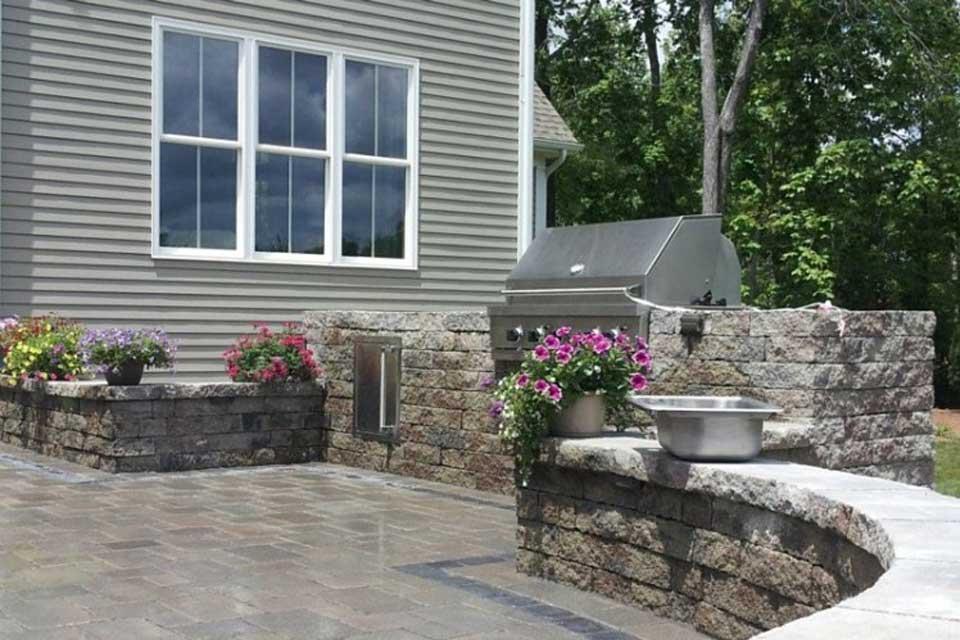 Outdoor Kitchen Design in CT