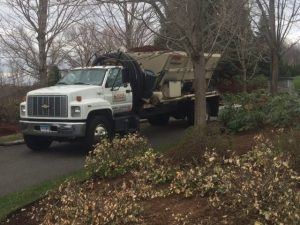 Mulch Delivery Truck