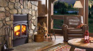 Regency R90 Large Wood Fireplace